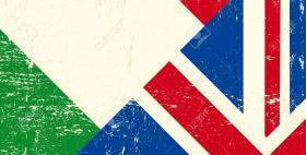 UK-Italy flag