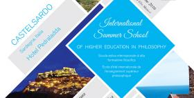 International summer school of higher education in philosophy