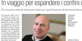 Rector Massimo Carpinelli on SOLE24ORE