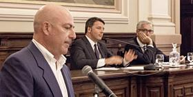 Matteo Renzi signs the Pact for Sardinia