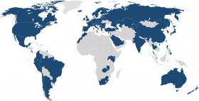 Eduroam world map