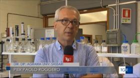 """""""La scienza contro i cambiamenti climatici"""", servizio di Stefano Fumagalli, Tg2 25/07/2021, TgRSardegna 03/08/2021"""