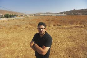 Ziad Abdul Jalil, Palestinian farmer